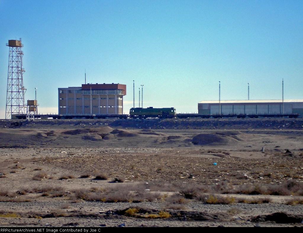 Iraqi Railways yard at Kirkuk, Iraq.