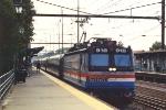 Eastbound along the platform