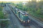 Light power to pick gravel train