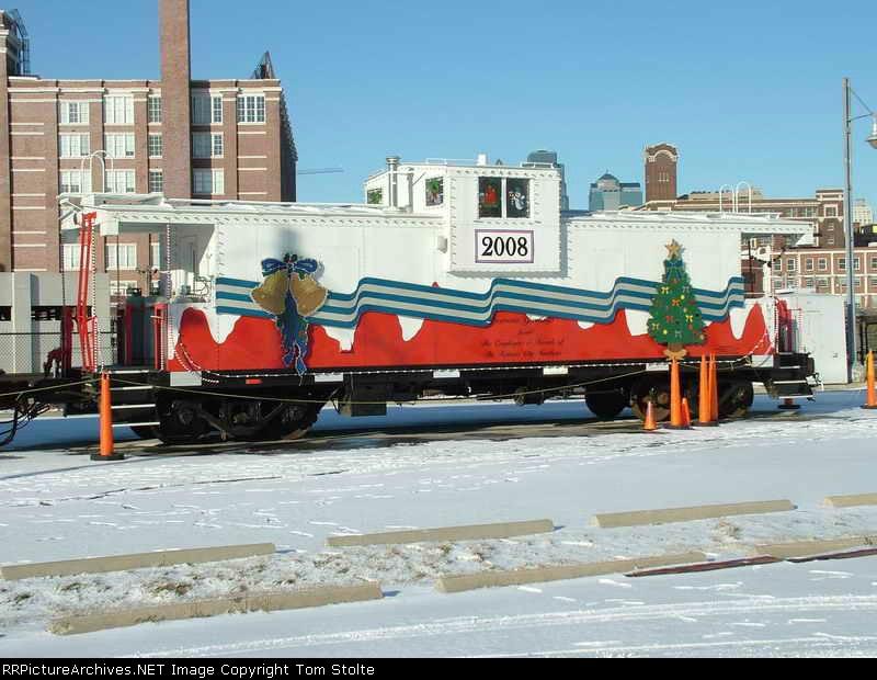 KCS 2008 caboose