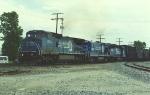 Westbound unit coke train