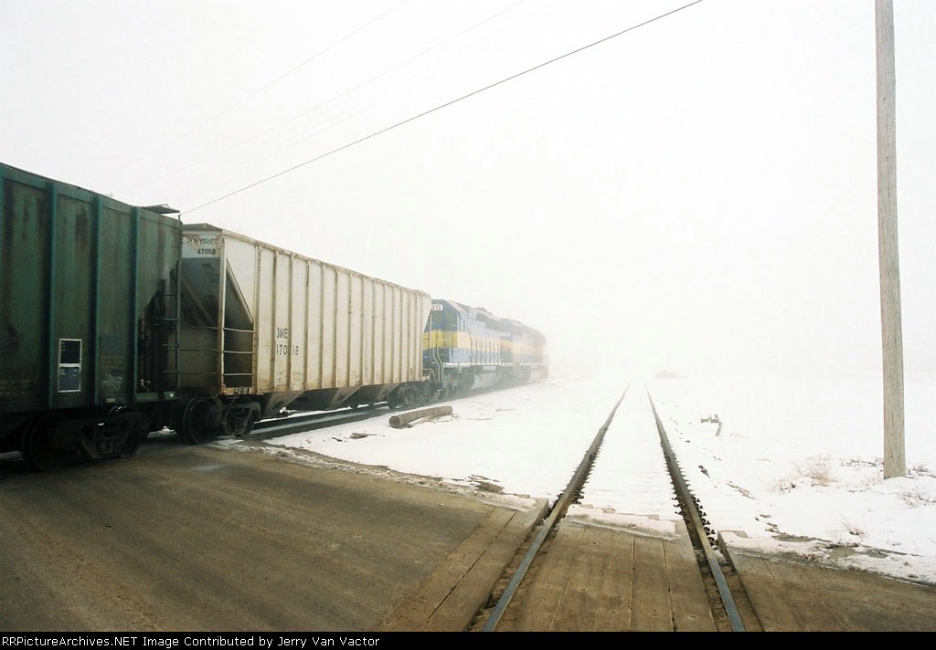 ICE 6213 and bentonite loads will vanish in to fog in less than a minute