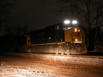 "CSX 914 with the ""glowing"" numberboards!"