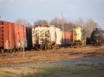 CSX 6010 goes back deep into the Yard