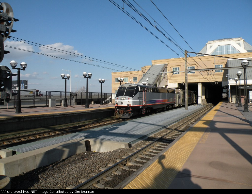 NJT P40BH #4803 Leading ACES Express