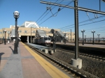 NJT P40BH #4802 leads the ACES throught Secaucus.