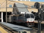 NJT ACES Westbound at Secaucus with P40BH 4802