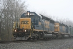 Close up of CSX 8846