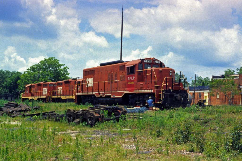 Alabama & Florida GP-7 2391