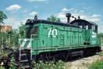 Burlington Northern SW-1 #70