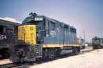 Almost Unmolested C&O Locomotive in Pensacola