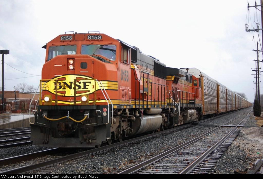BNSF 8158 & 5235