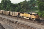 Eastbound coal empties on the North Runner of Northtown Yard