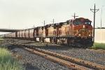 "Eastbound ""Earthworm"" grain train"