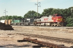 Eastbound manifest approaches Northtown Yard