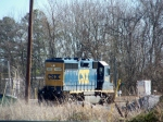 CSX 4421 (ex-Conrail 3331) is the only CSX power in the yard 12/29/2008