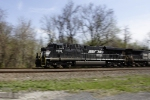 NS 7636 zooms towards points west