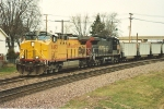 Amother westbound empty coal train