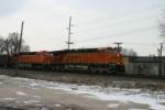 BNSF 6063 on coal loads