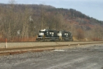 NS 3341heads to Conemaugh to push some trains
