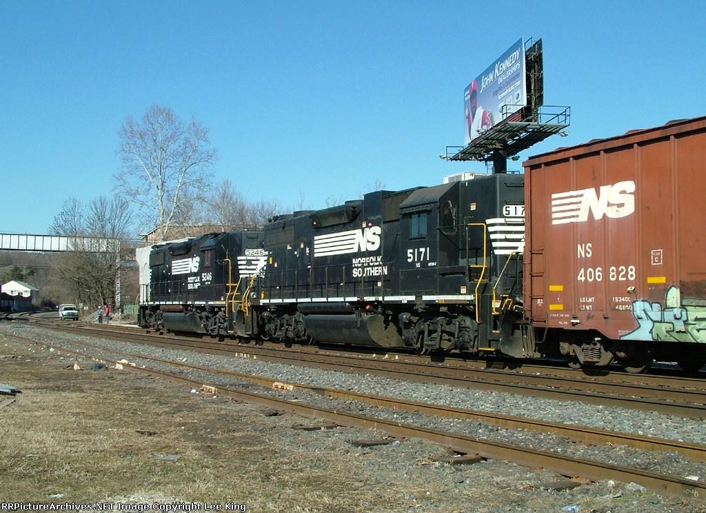 NS 5246 H5A Going Away