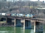 CSX 4701 Goes Over The Schuylkill