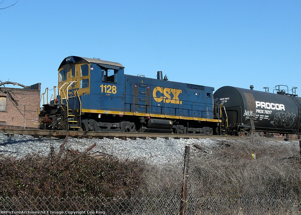 CSX 1128 Frankford Junction