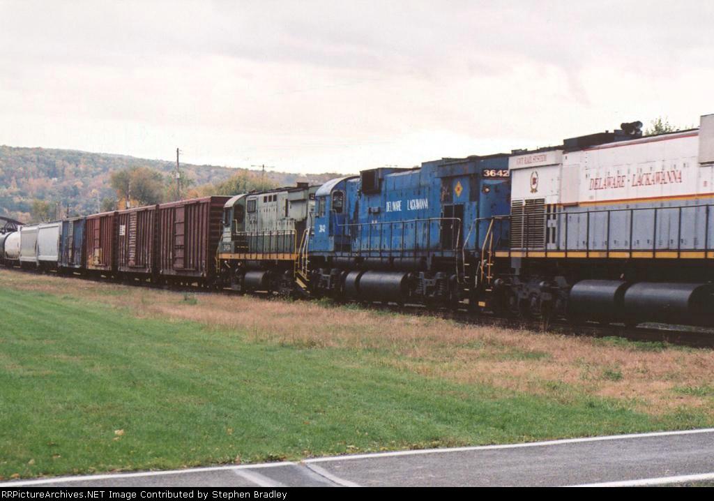 Delaware Lackawanna 3642