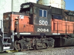 Detailed shot of SOO 2064