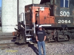 My dad and Soo Line 2064