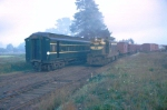 T 335 shunting in the yard