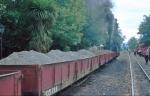 6A pushing the ballast train