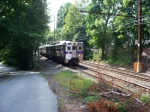 Septa Train 376 in Wallingford, Pa