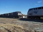 NS 9314 passes Northbound Piedmont