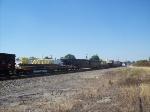 Train 981 past Salisbury Wye