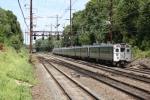 Meeting a Keystone Train