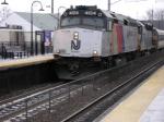 Bayhead X Train at speed