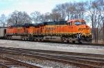 BNSF 6135 & 6021