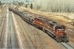 Taconite loads weighs as it enters Proctor Yard