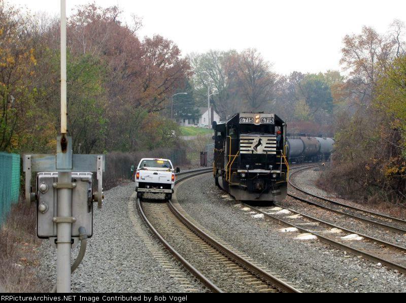 NR 6715 and Hy-Railer
