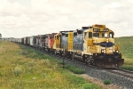 Southbound grain train 