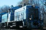 L&C 93 leads grain train into Chester
