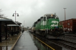 BNSF 2079 tails Amtrak Cascades #504