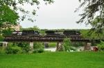 Q620-01 crosses the Grasse River