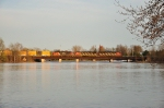 Q620-04 rolls across the water in Potsdam