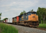 Q62022 pulls south out of Massena Yard