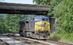 CSXT 50 (AC44CW) and CSXT 4843(SD70ACe) bring black gold off the Old Main Line on U732