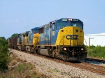 CSX 8785 Southbound Rock Train