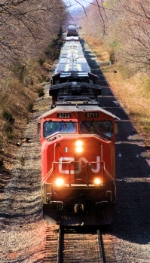 CN 5711 & 2707 CSX Q300-02