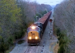CSX 4742 W086 Herzog PLUS Ballast Work Train